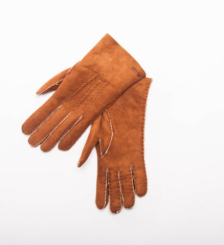 Women's Hestra Sheepskin Gloves, Cork