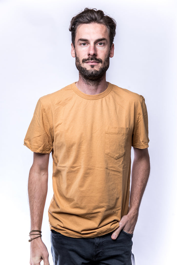 Homespun Knitwear Tennessee Jersey Dad's Pocket Tee