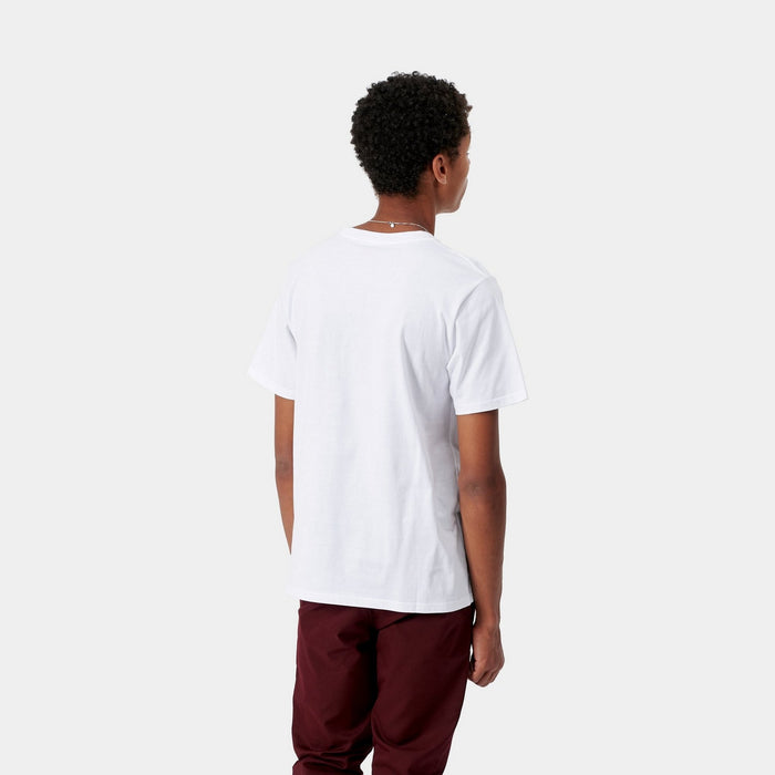 Carhartt WIP SS Pocket T-Shirt, White
