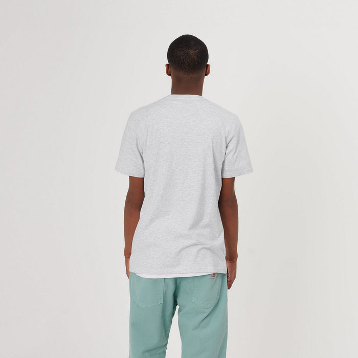 Carhartt WIP SS Pocket T-Shirt, Ash Heather