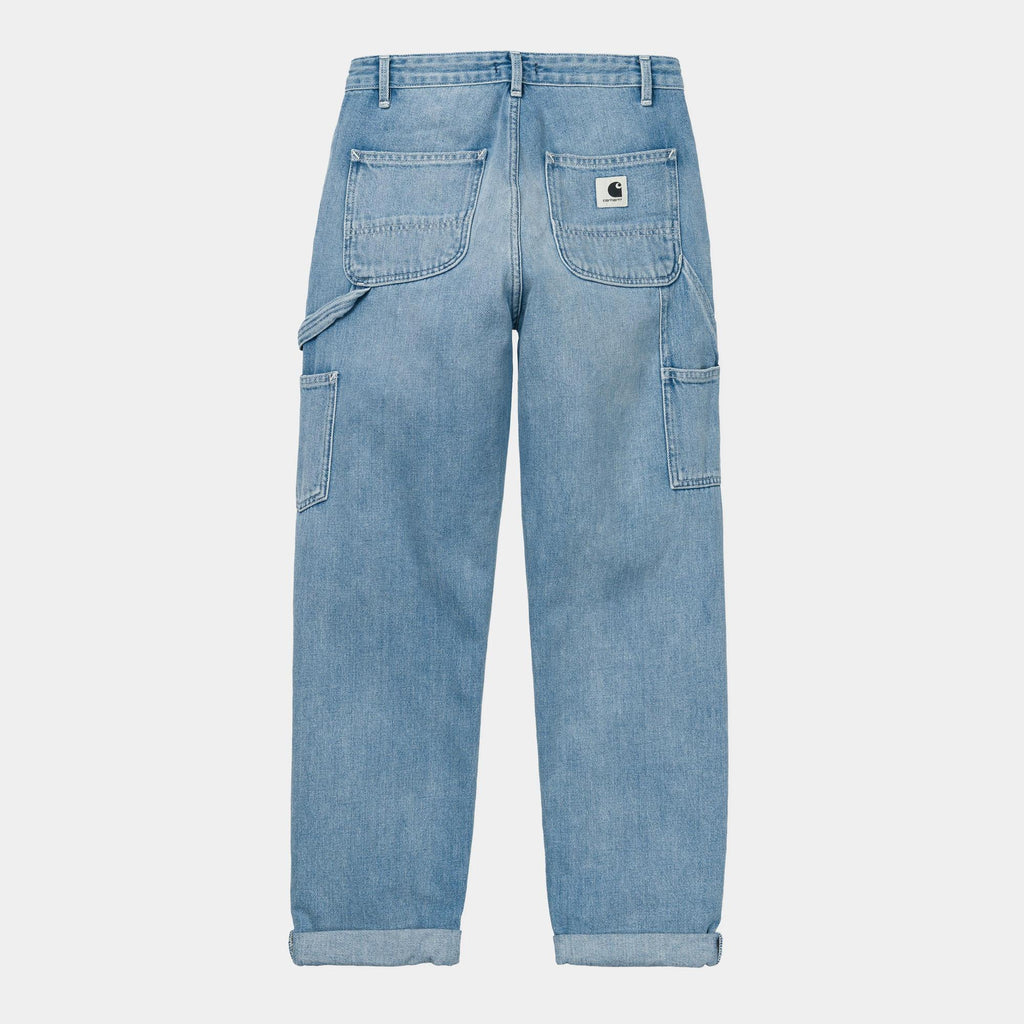 Carhartt WIP Women's Pierce Pant , Blue Light Stone Washed