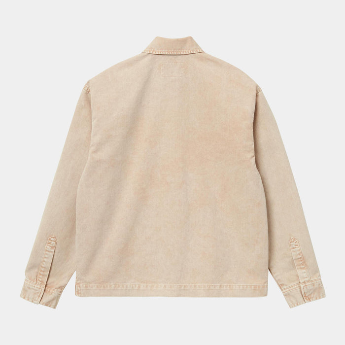 Carhartt WIP Women's Sonora Shirt Jac, Dusty H Brown Worn Washed