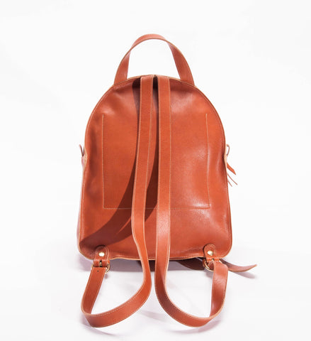 Il Bisonte Cowhide Backpack, Light Brown