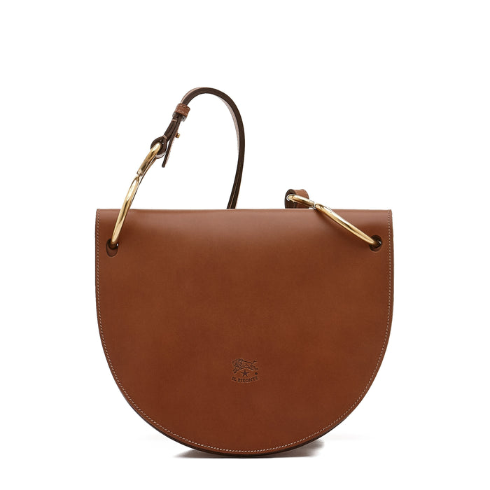 Il Bisonte Crossbody Bag (A2830), Chocolate