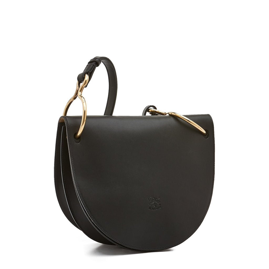 Il Bisonte Crossbody Bag (A2830), Black