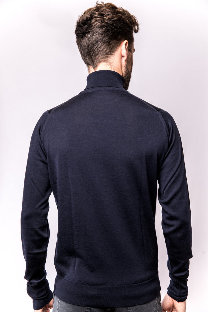 John Smedley Richards Pullover Turtleneck midnight