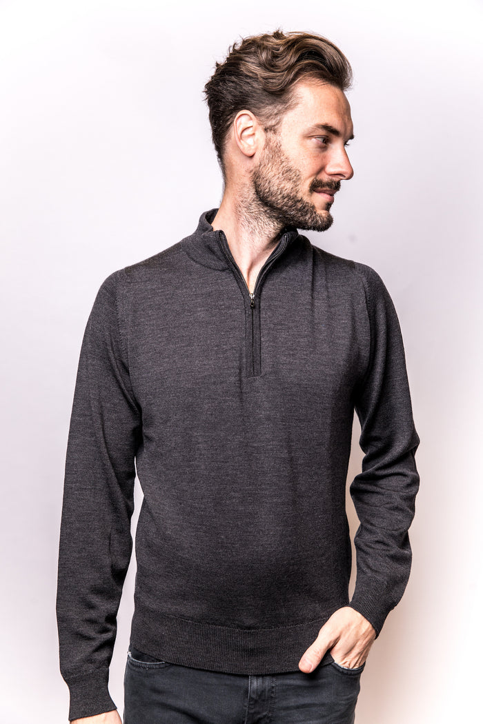 John Smedley Tapton Pullover Half Zip (+colors)