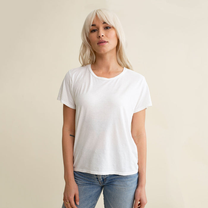 Jungmaven Ojai Tee, Washed White