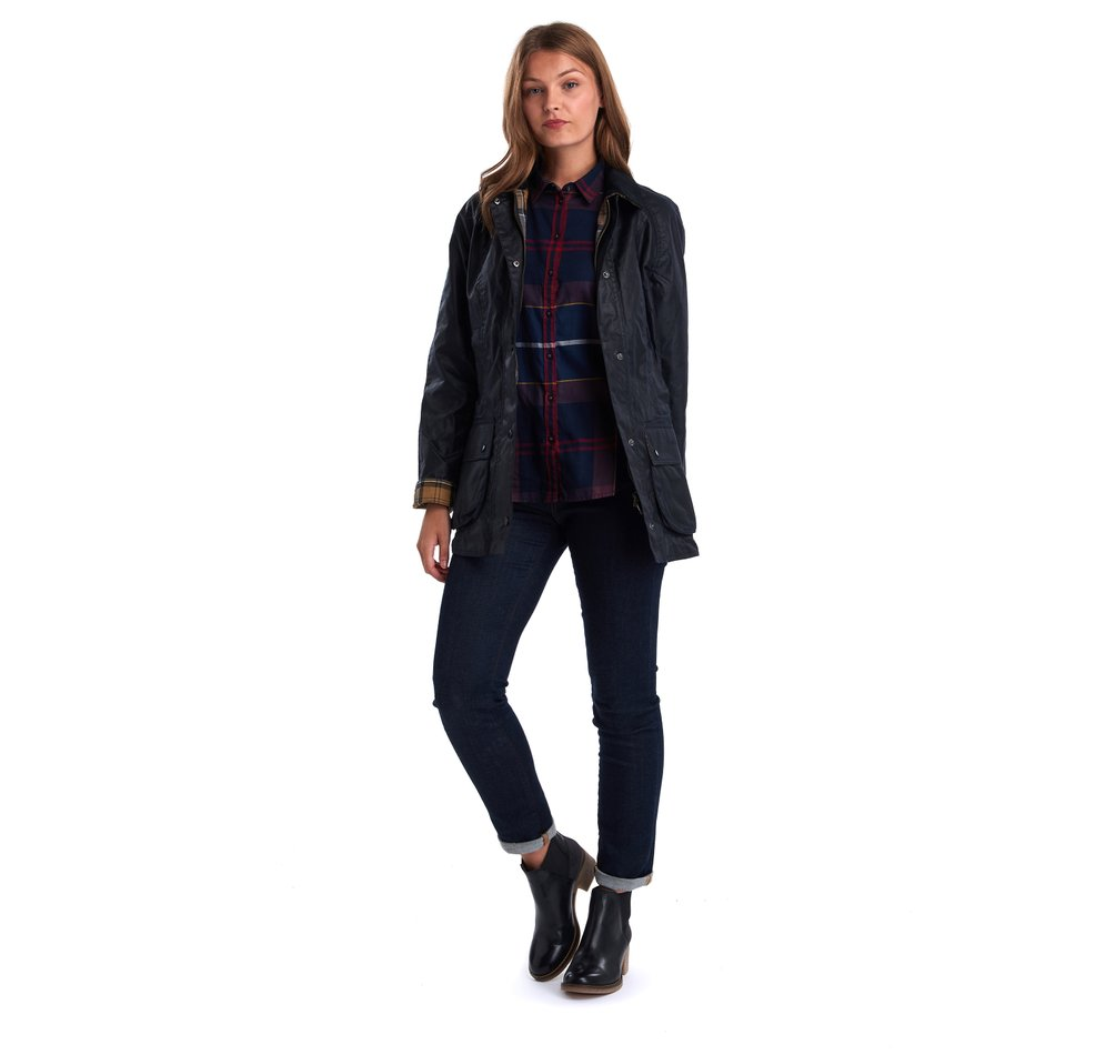 Barbour Beadnell Jacket, Navy