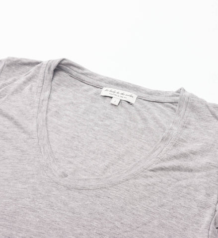 The Lady and the Sailor - Basic Tee, Heather Grey