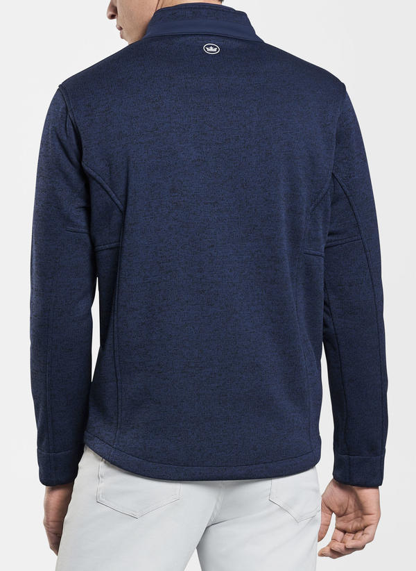 Peter Millar Legacy Wind Fleece Jacket, Navy