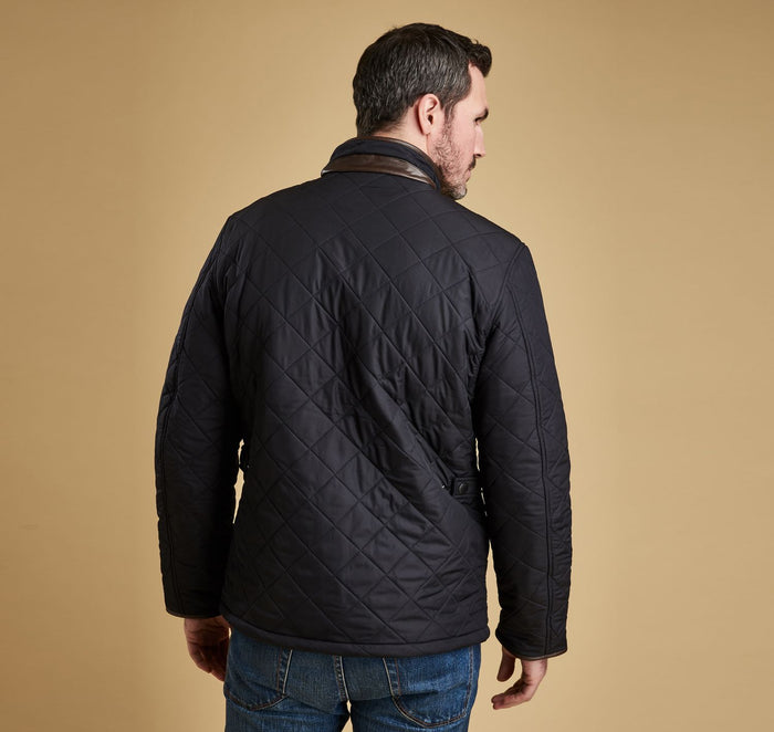 Barbour Powell Quilt Jacket, Navy
