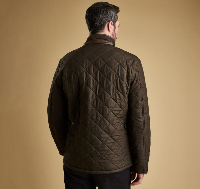 Barbour Powell Quilt Jacket, Olive