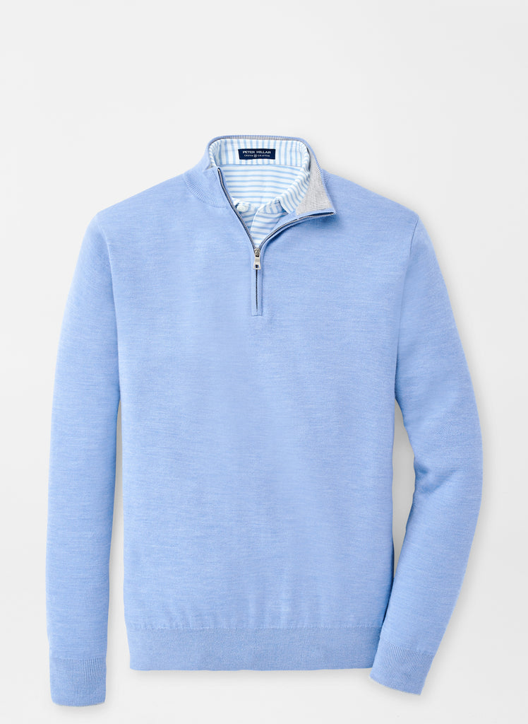 Peter Millar Victory Quarter Zip , Waterfall