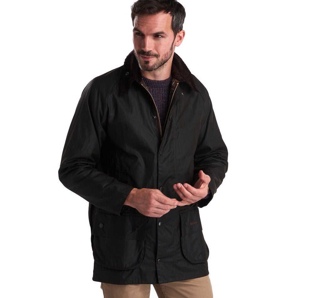 Barbour Classic Beaufort Wax Jacket, Olive