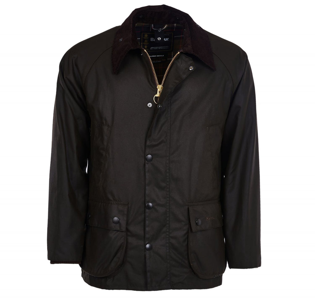 Barbour Classic Bedale Wax Jacket, Olive
