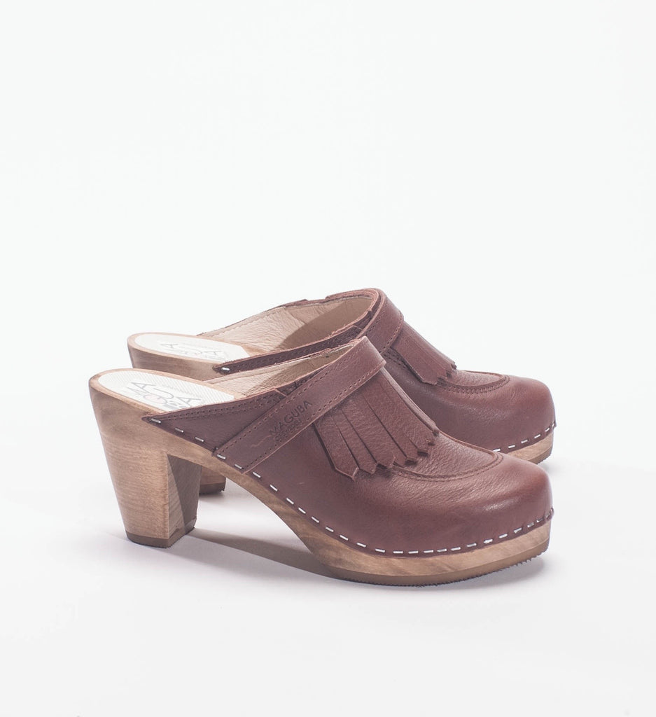 Maguba Clogs Chicago Clogs, Brown