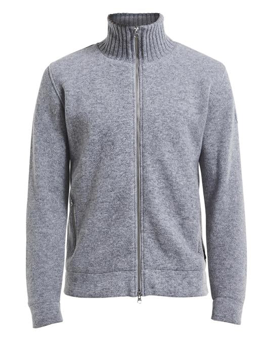 Holebrook Mans Zip WP, Grey Melange
