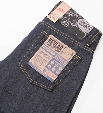 Naked & Famous Kevlar Blend Selvedge Weird Guy Jeans