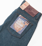 Naked & Famous Rusted Blue Selvedge Weird Guy Jeans