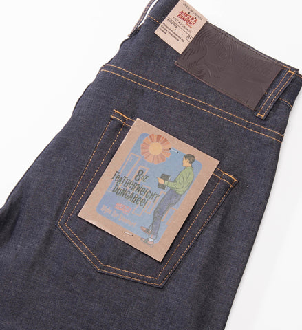 Naked & Famous Featherweight Dungaree Selvedge Easy Guy Jeans