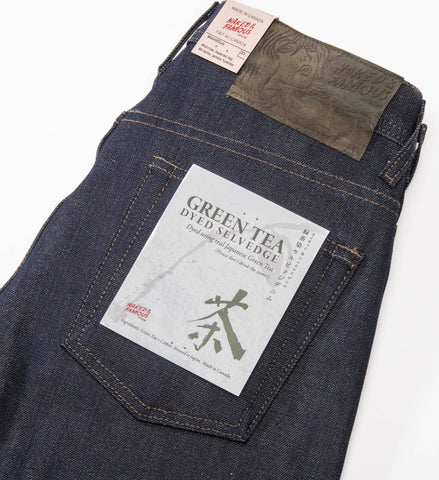 Naked & Famous Green Tea Dyed Weird Guy Jeans
