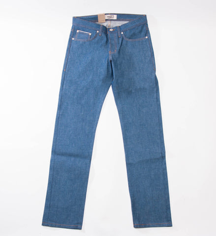 Naked & Famous Sunrise Selvedge Weird Guy Jeans