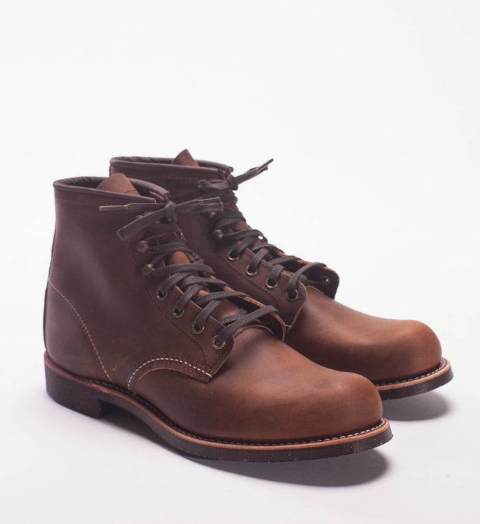 Red Wing Copper Rough Out Blacksmith Boot