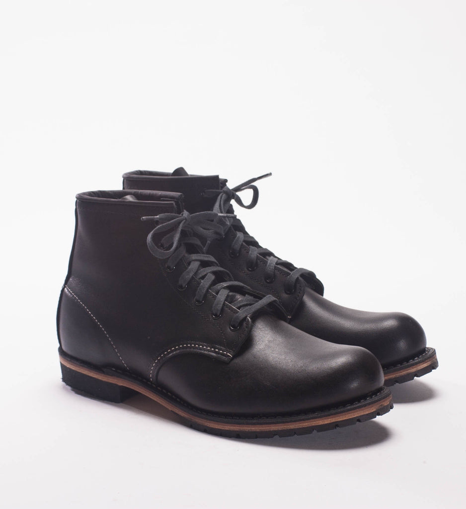 Red Wing Beckman Boot - Black 6 Inch Round Toe