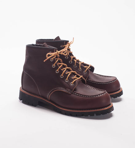 "Red Wing Briar Oil Slick 6"" Moc Lug Boot 8146"