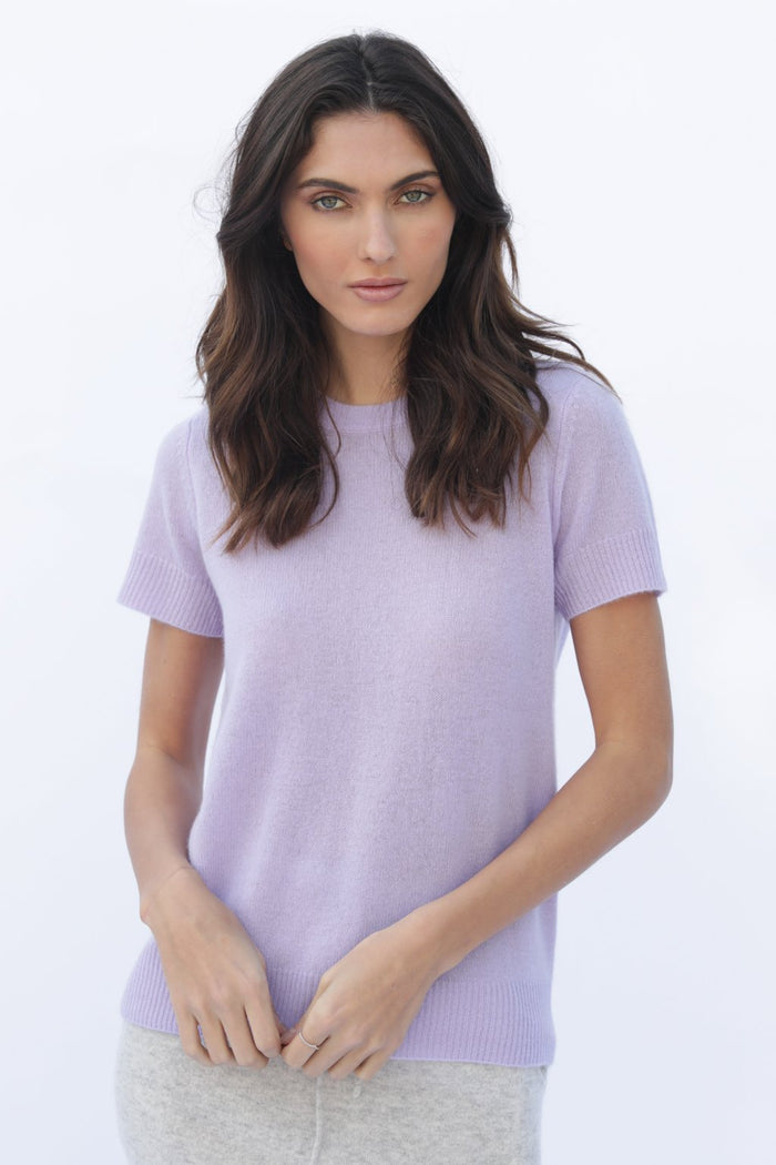 Oats Cashmere Vedra Sweater, Lavender