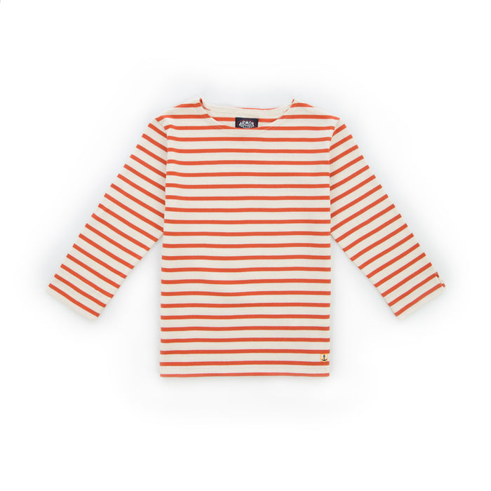 Armor-Lux Breton Cropped 3/4 Sleeve Shirt, +colors (As seen in NYT)