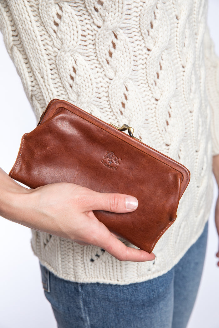 Il Bisonte Cowhide Coin Purse | Portland Dry Goods