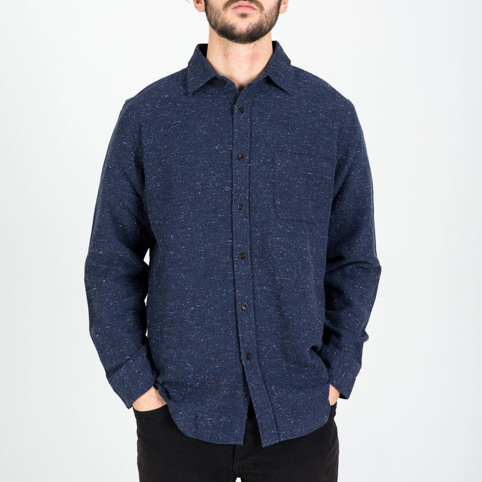Portuguese Flannel Rude Shirt, blue