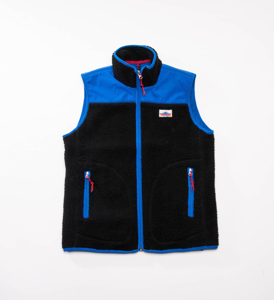Penfield Mattawa Fleece Vest, Black