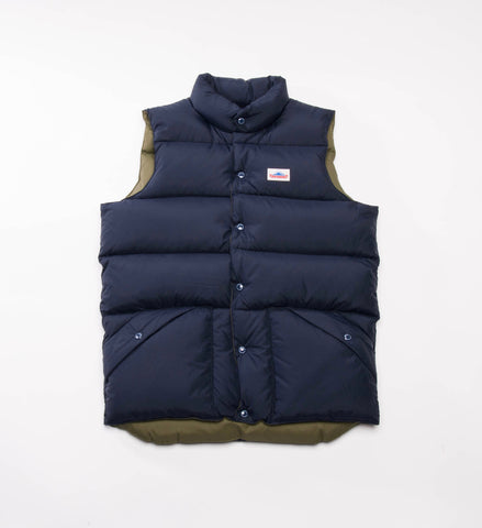 Penfield Outback Vest, Navy