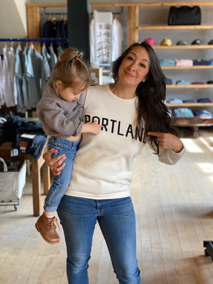 Holebrook Portland Town Sweater, Off White