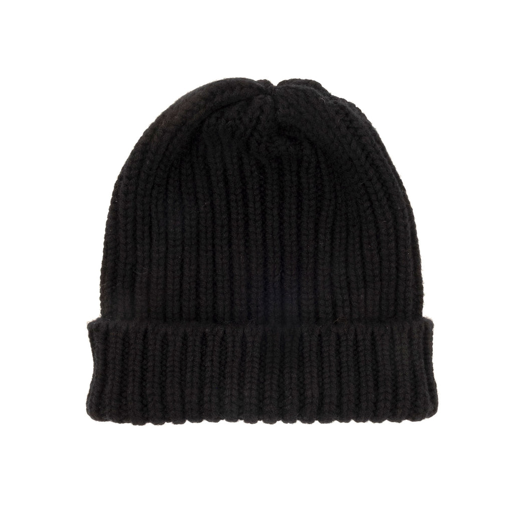 Portland Dry Goods Pure Cashmere Ribbed Hat