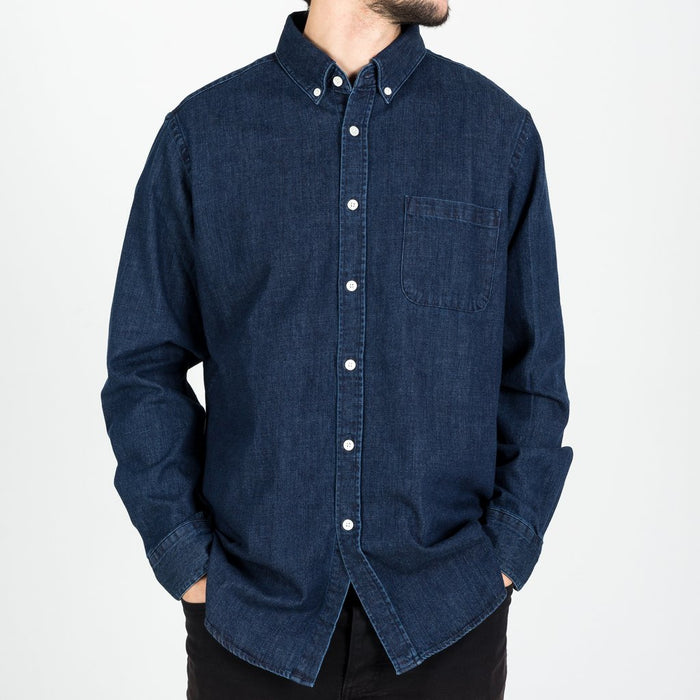 Portuguese Flannel Ganga Denim Shirt 1 Wash