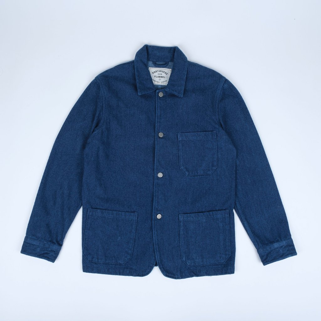 Portuguese Flannel Labura Brushed Denim