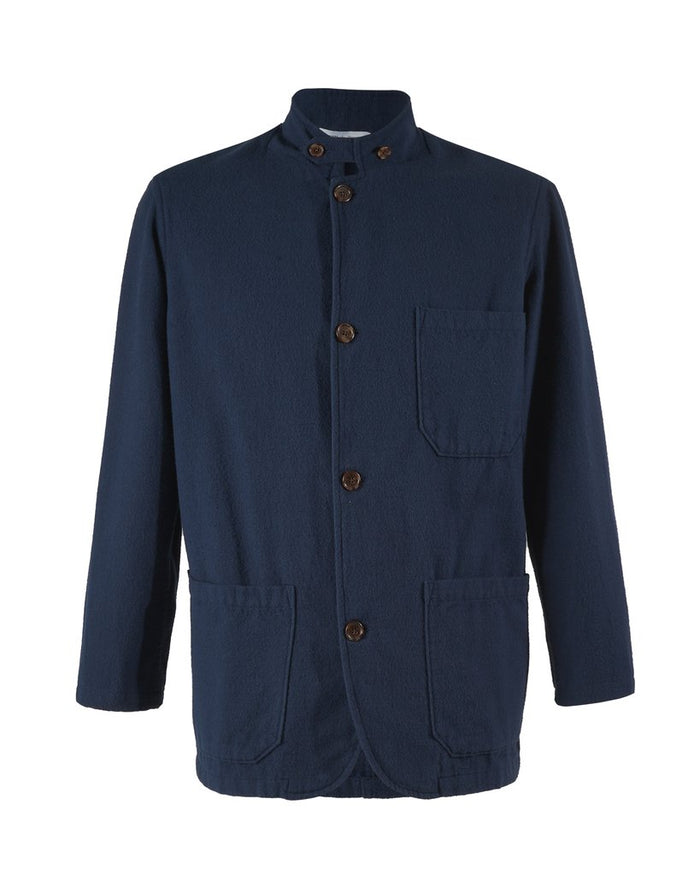Portuguese Flannel Working Blazer, Blue