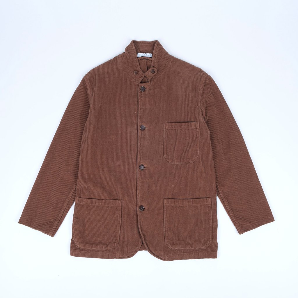 Portuguese Flannel Working Blazer, Corduroy Brown