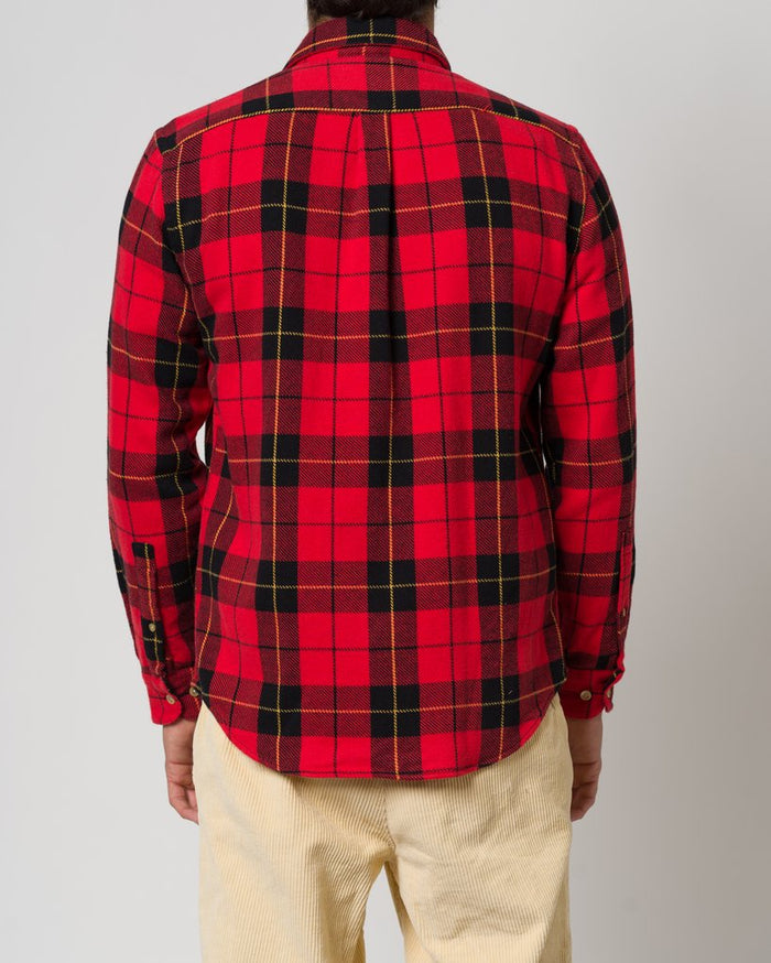 Portuguese Flannel Colorado Shirt, Red