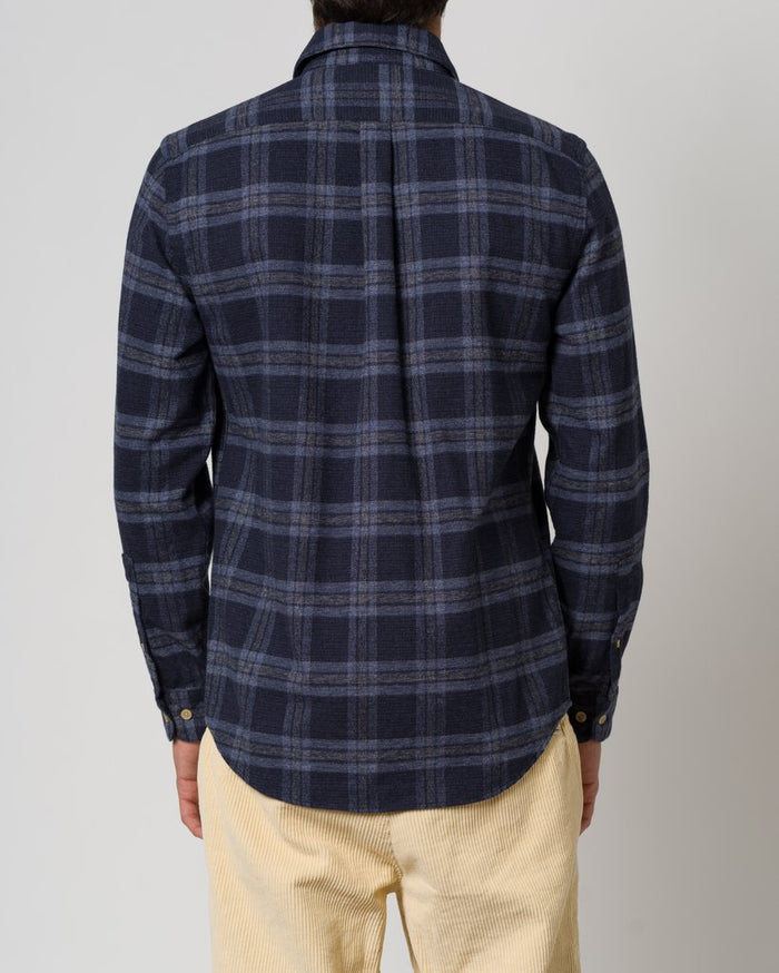 Portuguese Flannel Highland Shirt, Abstract Check