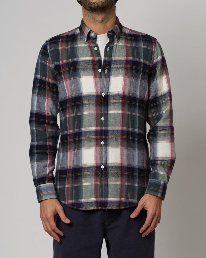 Portuguese Flannel Highland Shirt, Club
