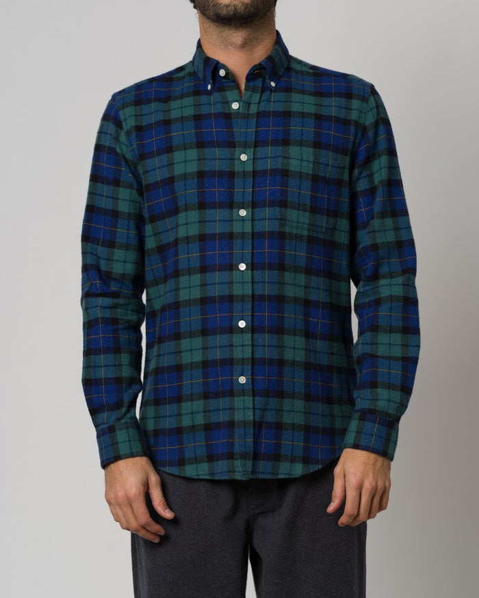 Portuguese Flannel Highland Shirt, Montevideo
