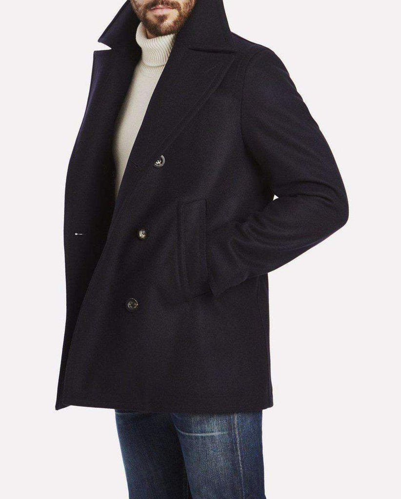 Private White The Peacoat, Navy