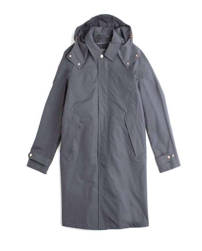 Private White The Ventile Commuter Raincoat, Charcoal