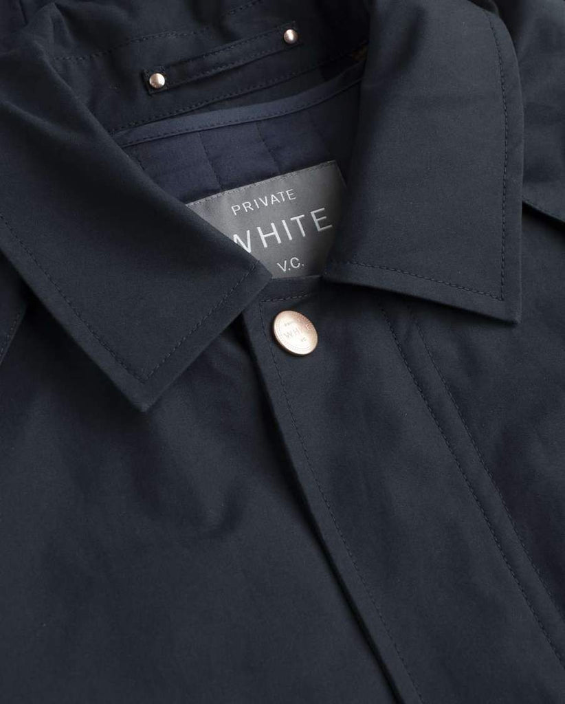 Private White The Ventile Commuter Raincoat, Midnight
