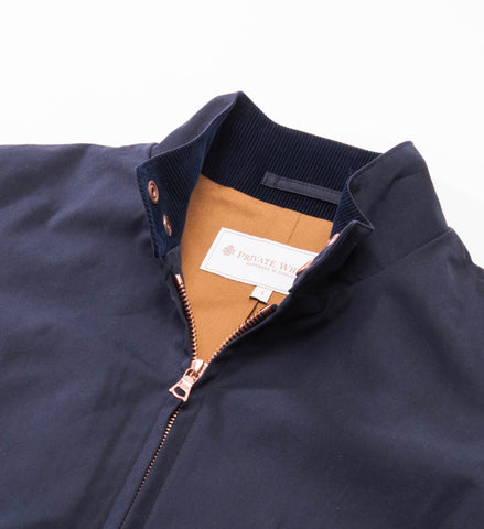 Harrington Jacket, Navy Ventile